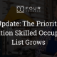 The Priority Migration Skilled Occupation List Grows